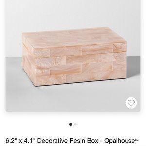 opalhouse resin box!!